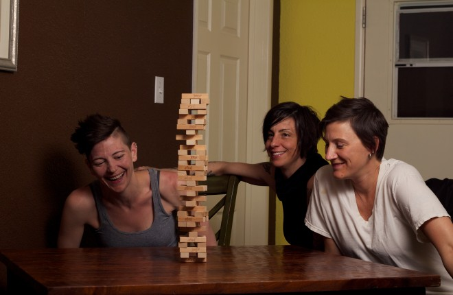32 Levels of Jenga with the Ladies