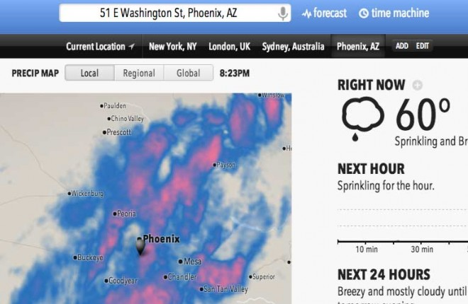 Your new Weather Service website &#8211; http://forecast.io/